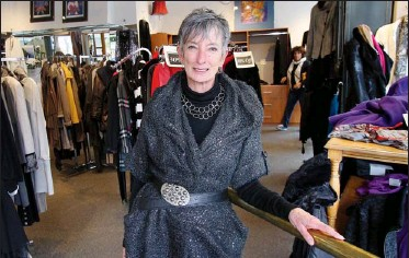 ??  ?? Wendy Graham opened her store in 1981. She credits quality clothing and customer service for her success.