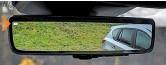 ??  ?? Загрузили багажник под потолок? С системой ClearSight это не проблема – изображение на зеркало идет с дополнительной камеры в задней части машины.