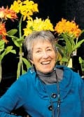 ?? Photo/Sandra Simpson ?? Lee Neale of Auckland's Leroy Orchids is one of the vendors at the Orchid Market in Tauranga.