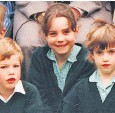 ??  ?? The Duke and Duchess of Cambridge as young children at Wetherby and St Andrew's