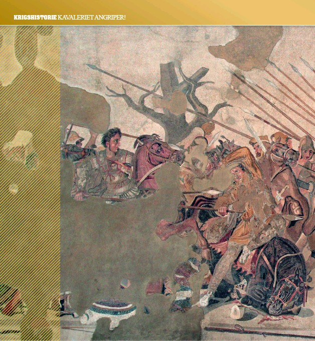 ??  ?? Aleksander-mosaikk fotografert i Museo Archeologico i Napoli.