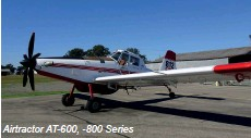??  ?? Airtractor AT-600, -800 Series