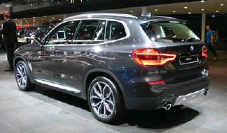 ??  ?? The third generation BMW X3 also debuted.