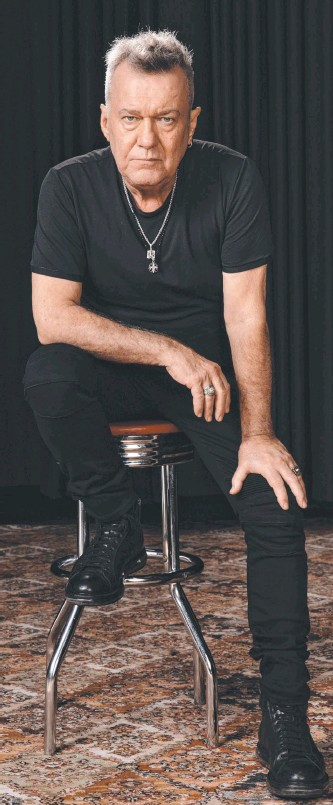 ??  ?? Jimmy Barnes will play at Seppeltsfield at the weekend. Picture: Daniel Boud