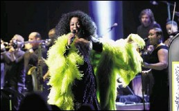"""?? Clarence Tabb Jr. / The Detroit News ?? Diana Ross brought her """"More Today Than Yesterday"""" tour to the Fox Theatre in 2010. She told Oprah Winfrey that she is launching a new tour."""