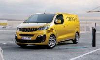 ??  ?? Opel Vivaro-e er hér boðinn með 257 km draegi.