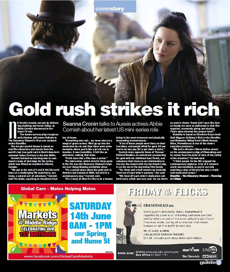 f6b7eda58af3a PressReader - The Chronicle  2014-06-12 - Gold rush strikes it rich