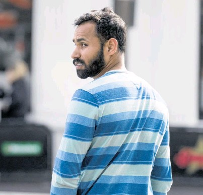 ?? Picture / Dean Purcell ?? Taxi driver Baljeet Singh is facing a charge of sexually assaulting radio DJ Jay-Jay Feeney.