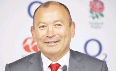 ?? File ?? ↑ England rugby coach Eddie Jones has full backing of the RFU despite the Six Nations debacle.