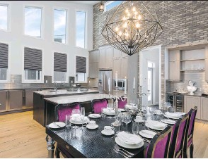 ?? PHOTOS: BROADVIEW HOMES ?? Broadview Homes' Hugo show home in Harmony won Best New Home $720,000-$849,999 at CHBAUDI Calgary Region's 2015 SAM Awards, presented on April 16.