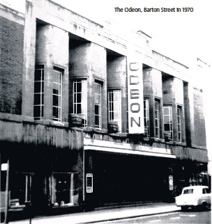 ??  ?? The Odeon, Barton Street in 1970