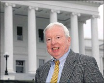 ?? 2010, BOB BROWN/ TIMES-DISPATCH ?? Tyler Whitley, who died on Nov. 18 at age 83, worked for The Richmond News Leader and then the Richmond Times-Dispatch for more than a half-century. For much of his career, hewas a fixture at the state Capitol as a political reporter.