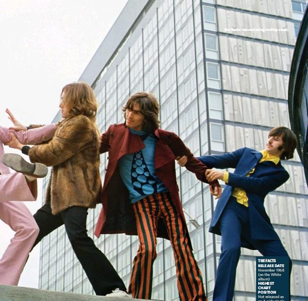 ??  ?? Ver Beats: unconvincing rooftop stunt.