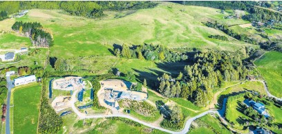 ??  ?? The 29.78ha landholding in the Drury Hills Rd-Ponga Rd area has existing resource consent for 27 lots up to 1ha.
