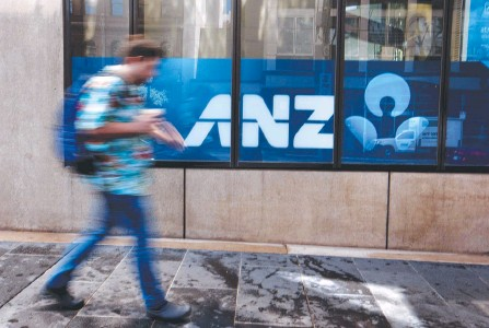 ?? DAVID GERAGHTY ?? ANZ has closed or announced plans to close 131 branches since early last year