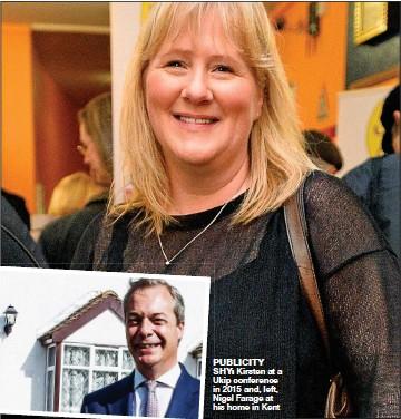 Hayes grainne Nigel Farage