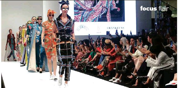 ?? Photo by mahzir mat iSa. ?? Syomirizwa Gupta's designs are perfect for those wanting to stand out from the crowd.