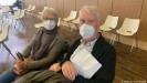 ??  ?? Sie sind erleichtert nach der AstraZenecaImpfung: Rita und Gerd Eisenbeiß