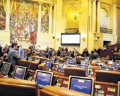 ?? Archivo ?? Vista general de plenaria del Senado.