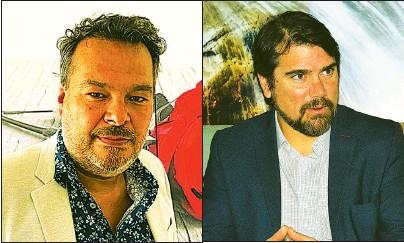 ??  ?? CONFORMES. Tanto Gustavo Peralta (Acav) como Federico Ricotini (AHT) se mostraron optimistas.