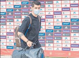?? FOTO: EFE ?? Álvaro Morata tendrá que hacer las maletas de nuevo con destino a Italia