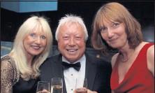 ??  ?? Dawn Baker, Geoff Baker and Susan Scurlock.