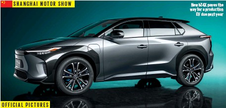 ??  ?? SHANGHAI MOTOR SHOW New BZ4X paves the way for a production EV due next year