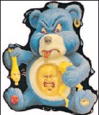 ??  ?? I Don't Flippin' Care Bear by Steve Gibb