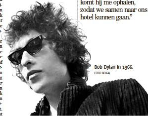 ?? FOTO BELGA ?? Bob Dylan in 1966.