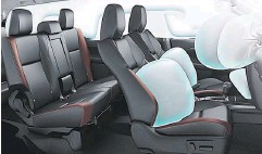 ??  ?? All variants of the Fortuner are fitted with SRS airbags.