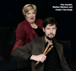 ??  ?? Fine Handel: Wiebke Weidanz and Stefan Temmingh