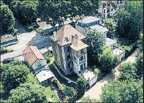 ?? EFE ?? Imagen de la mansión donde Bizet creó Carmen, en Bougival