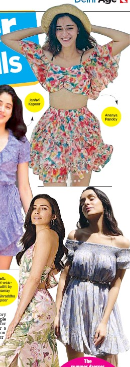 ??  ?? Left: Model wearing outfit by Yamamay