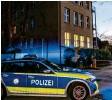 ?? Foto: Lienert ?? Die Polizei sperrte das Impfzentrum Memmingen weiträumig ab.