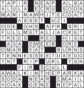 self proclaimed expert crossword - 170×178