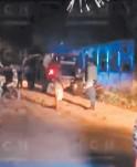 ?? FOTO: EL HERALDO ?? Al lugar llegó la Policía, pero no pudieron capturar al homicida.