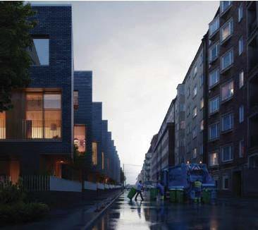 ??  ?? NEJ. De planerade radhusen på Södermalm borde inte genomföras under rödgrönrosa flagg, skriver en medlem i Naturskyddsföreningen.