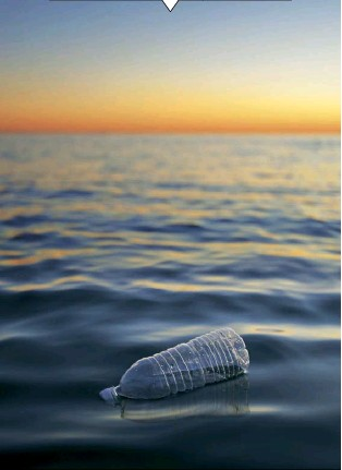 ??  ?? Non-biodegradable materials find their way into oceans and rivers