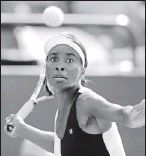 ?? By Mic Smith, AP ?? Not yet ready: Venus Williams is recovering from Sjogren's syndrome, an autoimmune disease.
