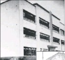 """??  ?? The Hindu Tamil Institute, 90 Cross Street; right: the school built in 1914; and """"PR"""" Pather, secretary from 1918 to 1951."""