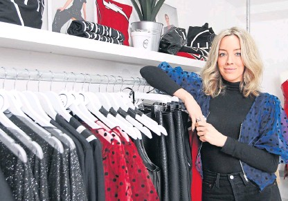 Pressreader The Courier Advertiser Perth And Perthshire Edition 2020 01 17 Dundee Fashion Designer Aims To Cut It On Tv Show