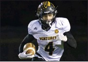 ?? TIMOTHY ARRICK — FOR MEDIANEWS GROUP, FILE ?? Bishop Foley's Jackson Zeiter was named First Team AllState in Division 7-8 as a running back.