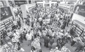 ?? Archivo ?? La pérdida económica ante la cancelación presencial de la Feria Internacional del Libro se estima en gastos de hospedaje, alimentos, transporte y visitas a destinos turísticos durante el evento. /