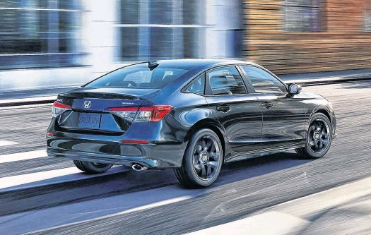 ??  ?? Drive the 2022 Honda Civic Sedan and you will come away with the sense it has grown up.