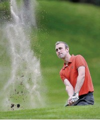 ??  ?? Bramhall Park Golf Club pro Craig Daggitt will compete for a place in the Lombard Trophy final