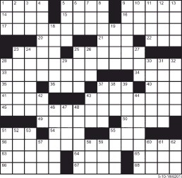 self proclaimed expert crossword - 258×252