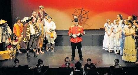 ??  ?? The Gilbert & Sullivan Society will celebrate 70 years with a production of The Pirates of Penzance.