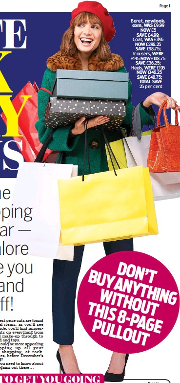 99f78e52133c PressReader - Daily Mail  2018-11-22 - ULTIMATE BLACK FRIDAY BARGAINS