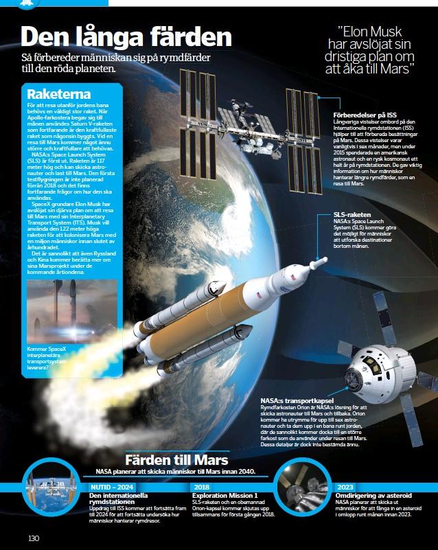 ??  ?? Kommer SpaceX interplanetära transportsystem leverera?