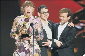 ??  ?? Taylor Swift was ranked second in the index (photo: Kevin Winter/Getty Images for The Recording Academy)